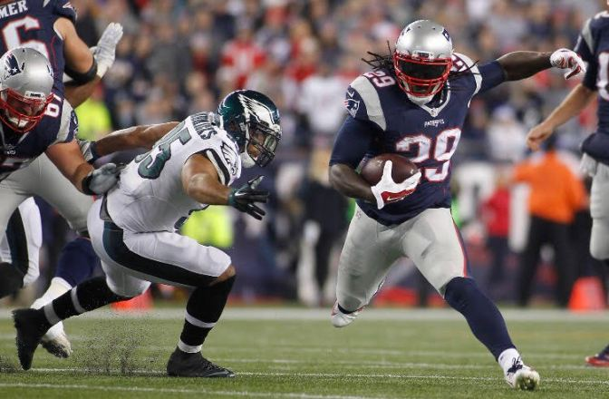 LeGarrette Blount is on the Eagles and it only took like three months
