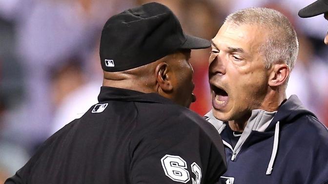 Joe Girardi is Phenomenal at Getting Tossed from Baseball Games