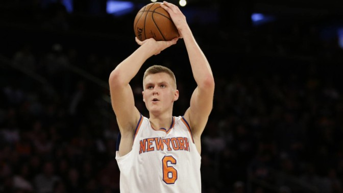 Kristaps Porzingis Confirms that 2017 is the Summer of Shooters