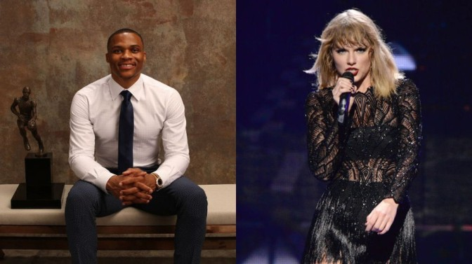 Taylor Swift's Video Congratulating Russell Westbrook Makes Me Irrationally Angry (Or Maybe Not?)