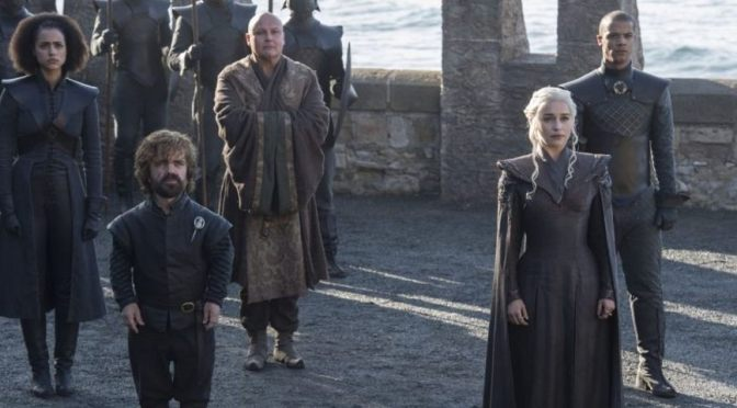 Reviewing Game of Thrones S7 E1