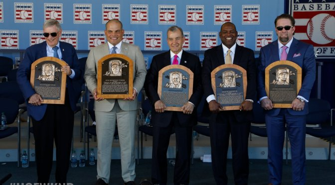 The Experience of Hall-of-Fame Weekend