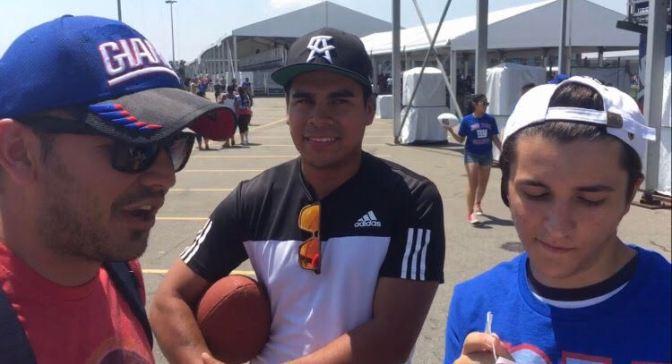 NY Giants Training Camp – Fan Edition