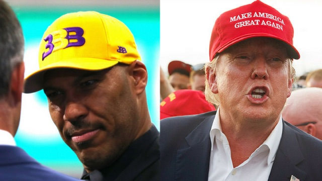 LaVar Ball is the Donald Trump of Summer 2017