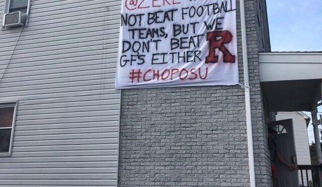 This Rutgers Football Banner Makes No Sense