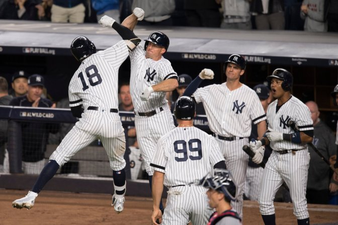 They Scared Me Half to Death, But the Yankees Are Going to the ALDS