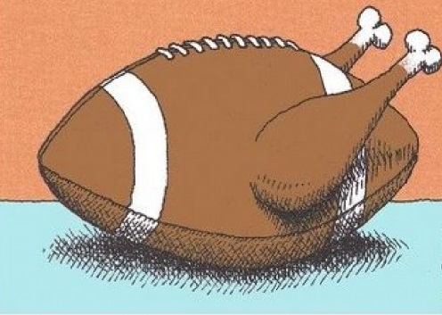 My Favorite Thanksgiving Football Moments