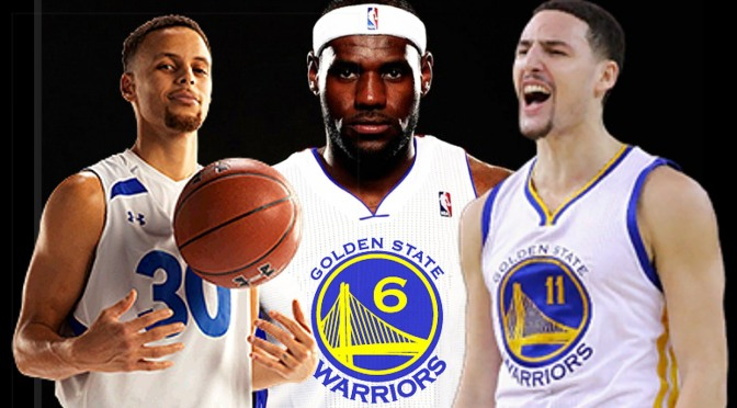 LeBron James Lists Warriors As One of His Potential Teams; Fans of Literally Every Other Team Decide to Start Watching More Baseball