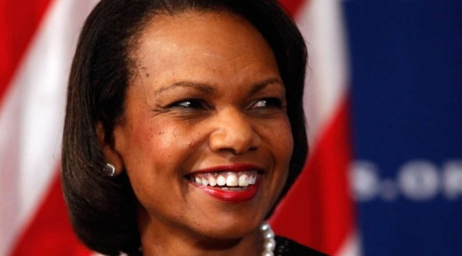 Condoleezza Rice Being a Head Football Coach Makes as Much Sense as Having a Reality Star for President
