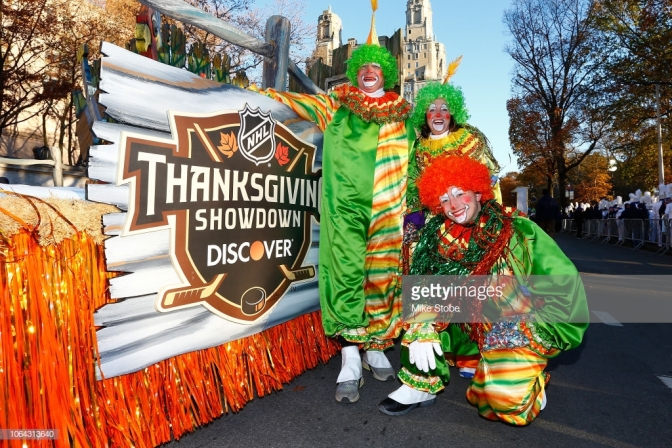 """The """"Discover Thanksgiving Showdown"""" – the NHL's Dumbest Gimmick"""