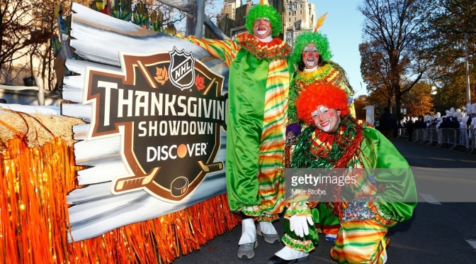 "The ""Discover Thanksgiving Showdown"" – the NHL's Dumbest Gimmick"