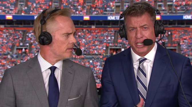 Every NFL Broadcast Needs a Young Guy on the Staff to Keep the Old Announcers from Repeating Nonsense