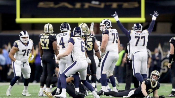 Coming to Grips with the Rams' Win over the Saints