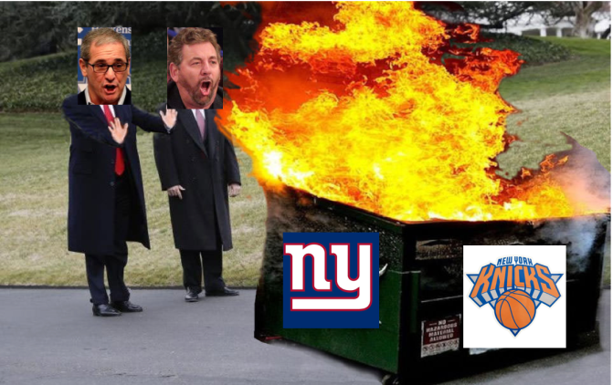 New York Sports is a Dumpster Fire