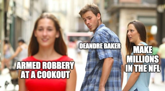 DeAndre Baker is an Absolute Moron