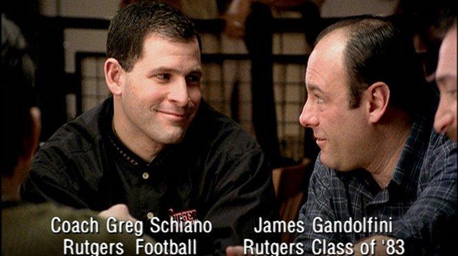 This Greg Schiano/James Gandolfini Rutgers Commercial Gets Me So Amped